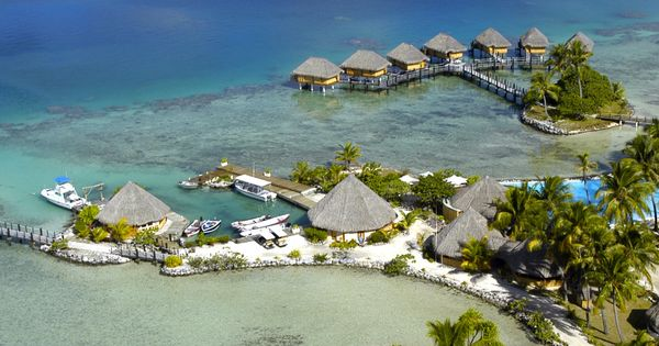 French Polynesia. I am so ready for summer vacay!