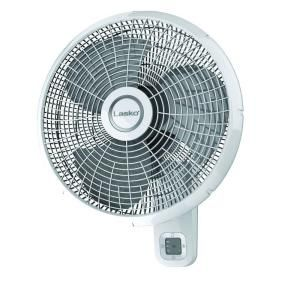 Lasko 16 In 3 Speed Oscillating Wall Mount Fan With Remote Control M16950 The Home Depot Wall Mounted Fan Lasko Wall Fans
