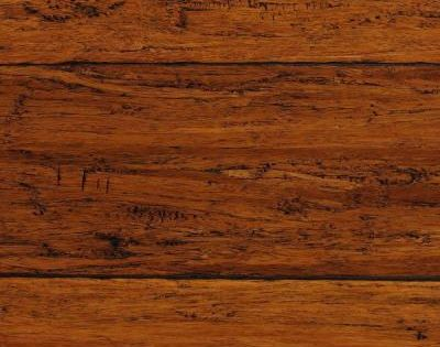 Null Take Home Sample Strand Woven Harvest Click Lock Engineered Bamboo Flooring 5 In X 7
