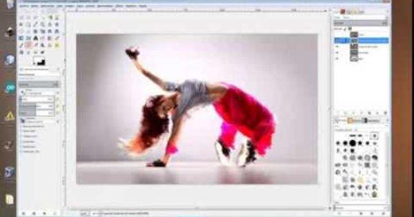 Videotutorial En Español Efecto Desintegración Gimp 2 8 Tutoriales Photoshop Videos Tutoriales Efectos Fotográficos