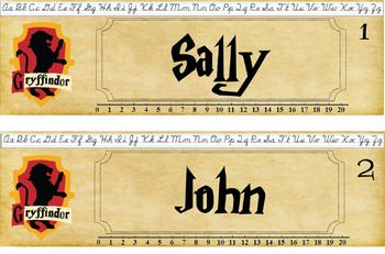 Harry Potter House Name Tags Publisher Harry Potter Classroom Harry Potter Free Harry Potter School