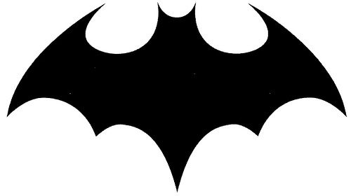 free bat signal coloring pages - photo#20