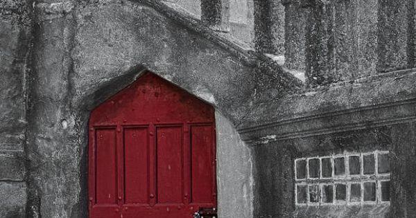 Red Door Red Door Cool Doors Color Pop
