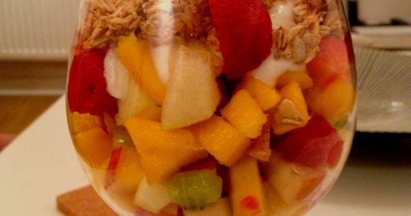 Fruit and Granola on Pinterest
