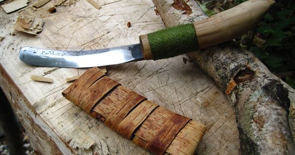 Crooked Knife Made Of An Old File Древорезки Pinterest