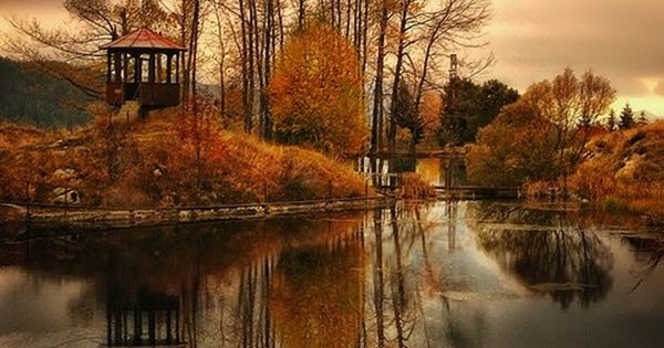 Autumn Lake, Bulgaria