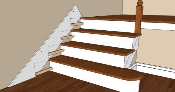 The Best Stair Skirting Tutorial I Have Read Stairs