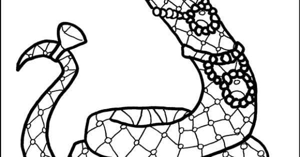 monster snake coloring pages - photo#10