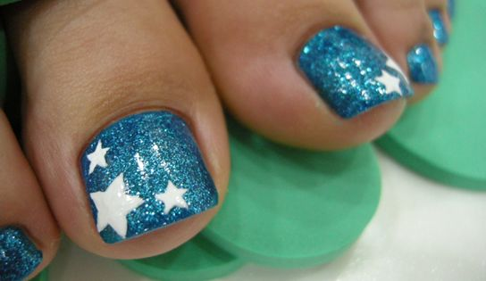 know that they can, nail color any Another easy design for a