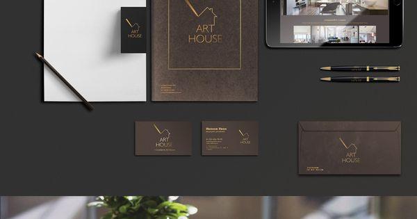Corporate Branding And Identity For Luxury Interior Design Studio Corporate Branding Logo
