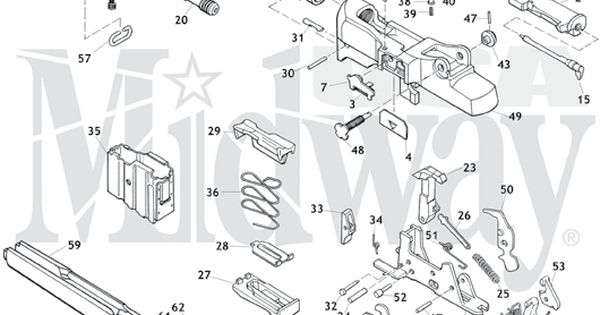 Ruger Mini-14 Schematic is here at | Best Mini 14 and Minis ideas