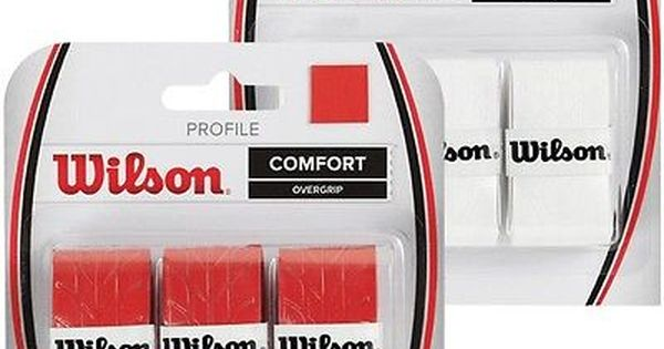 Wilson Profile Overgrip Over Grip For Tennis Padel Or Squash View More On The Link Http Www Zeppy Io Product Gb 2 1722579 Tennis Grips Tennis Wilson