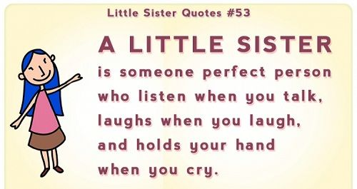 Little Sister Quotes Jpg 500 265 Little Sister Quotes Sister Quotes Sister Quotes Funny