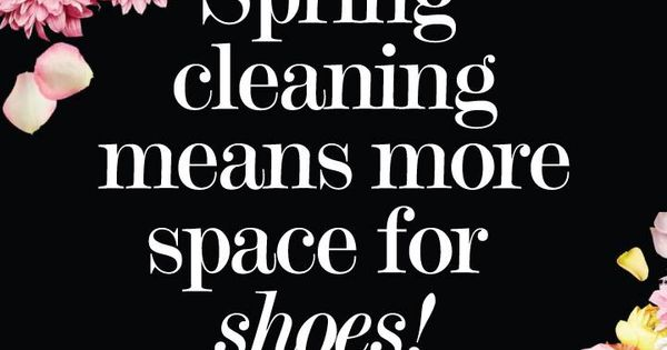 Spring Means Spring Cleaning And Spring Cleaning Means