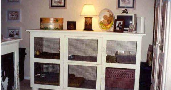 Clapier Lapin Meuble Cage De Lapin D Interieur Clapier Interieur Cage Pour Herisson