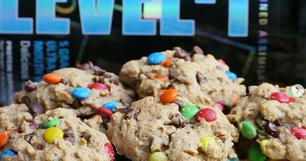 Protein Monster Cookies Protein Desserts Healthy Sweets Recipes
