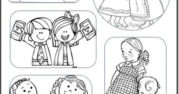 I Love My Sister Coloring Pages