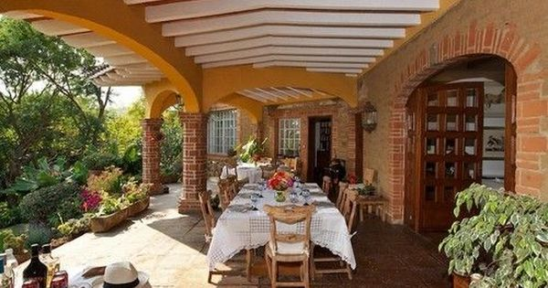 Casa tipo hacienda mexicana buscar con google fachadas for Piani casa adobe hacienda