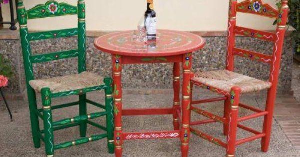 Sillas de enea andaluc a espa a mobiliario pinterest - Mobiliario vintage sevilla ...