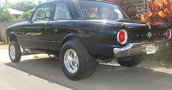 1963 Ford 2 Door Sedan Falcon Hot Rod Street Rod Gasser Race Car Ford Falcon Vintage Muscle Cars Classic Cars Muscle