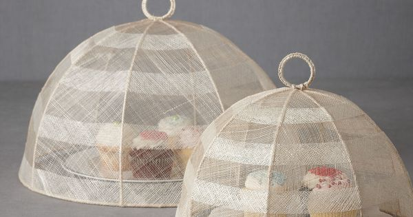 Airy Cloche Food Cover / BHLDN