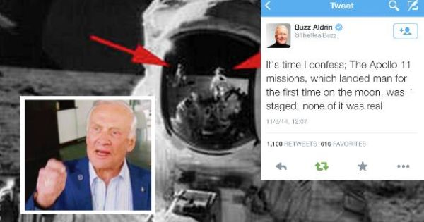 Fake News Buzz Aldrin Admits Apollo 11 Moon Landings