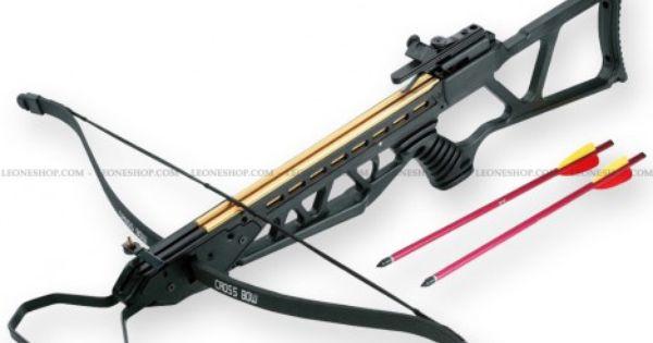 Fucile balestra 120 libbre man kung fionde e cerbottane - Porta pistola da spalla ...