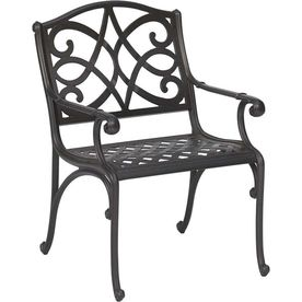 Garden Treasures Waterbridge Aluminum Patio Dining Chair Lowes Com 98 Weight Capacity 300 Lbs Patio Dining Chairs Outdoor Furniture Aluminum Patio