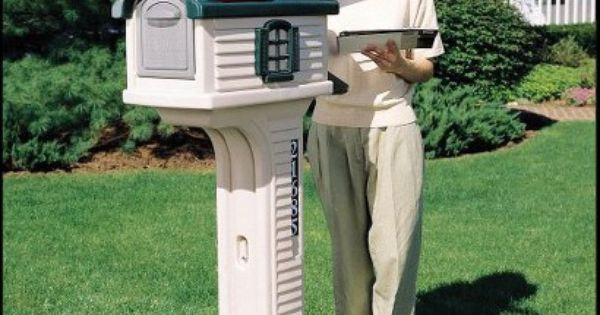 Step 2 Villager Mailbox 733538502004 The Step 2 Villager Mailbox Will Have You Smiling Every Time You Get The Mai Mailbox Mailbox Accessories Village Houses