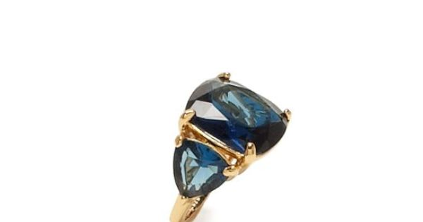 year of color december ring - kate spade ... how beautiful is