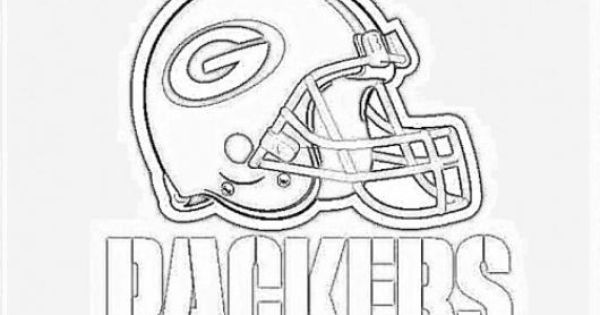 Awesome Green Bay Packers Helmet Coloring Pages Enjoy