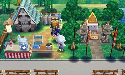タコヤ 縁日のある暮らし Animal Room Animal Crossing Happy