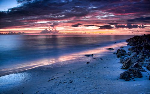 44 Free Beautiful Sunset Wallpapers Naldz Graphics Beach At Night Beach Sunset Wallpaper Beach Wallpaper