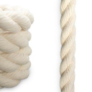Knot And Rope 1 2 Inch Diameter Cotton X 50 Ft Cotton Rope Puppy Crafts Synthetic Rope