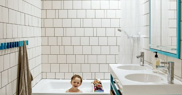 Dwell - bathrooms - kids bath, kids bathroom, boys bath, boys bathroom,