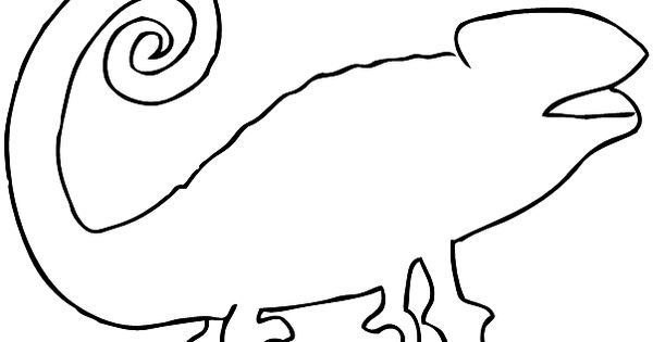 Find the chameleon - Template | Reptiles and Amphibians ...