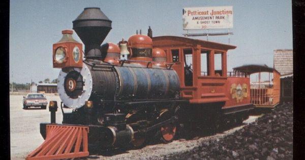 Petticoat Junction 9 Steam Locomotive Train Postcard Panama City Florida Panama City Panama Panama City Beach Fl Panama City Florida
