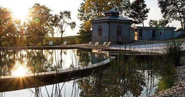 Chateau mcely prague czech republic a spring fed for Prague bathhouse