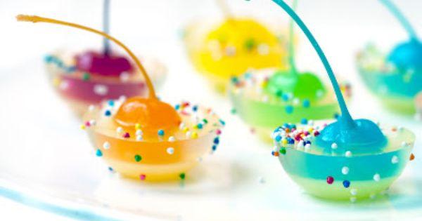 Cherries, Rainbows and Jello on Pinterest