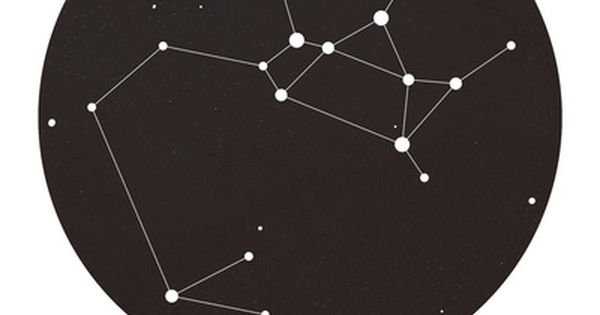 Sagittarius Star Constellation Art Print ALEXXXX. I also love space so this