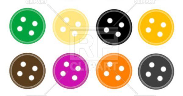 clothes buttons clip art - photo #18