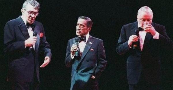 1988 Rat Pack Together Again Tour Frank Sinatra Dean Martin