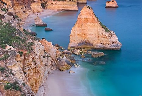 places i want to visit - Praia Marinha, Algarve, Portugal