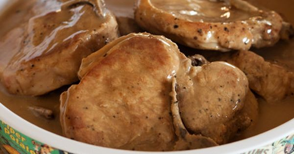 Pork Chops In Mushroom Gravy Pressure Cooker Recipes