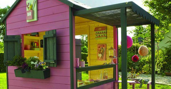 Castorama cabanes de jardin pour enfants charlotte 39 s garden pinterest jardin pour - Cabane de jardin castorama ...