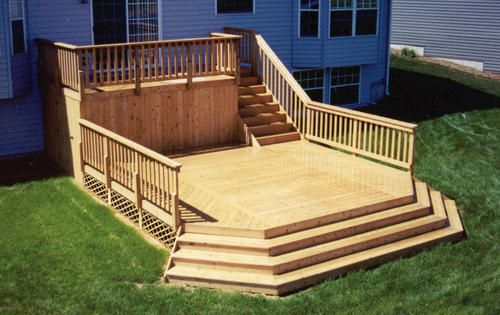 8 X 16 Upper Deck W 16 X 16 Main Deck At Menards