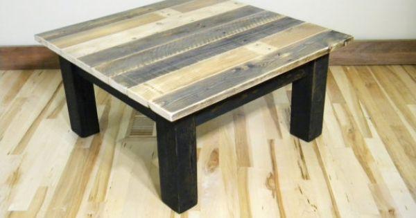 Coffee table reclaimed wood coffee table rustic coffee for Large reclaimed wood coffee table