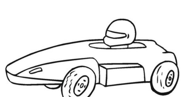 Coloring Pages Pinewood Derby Cars Crash Derby Cars
