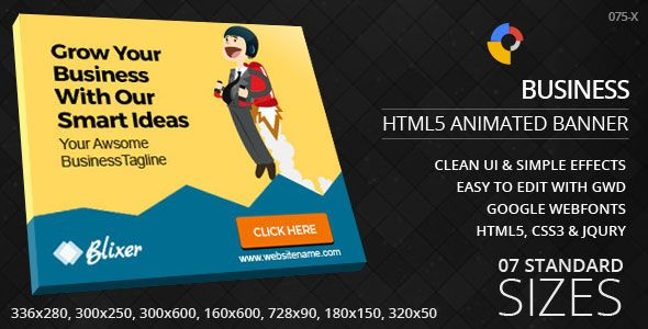 Smart Business Html5 Ad Banners Banner Ads