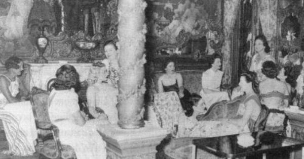Le chabanais vers 1940 situ e au 12 rue chabanais la for Baden baden allemagne maison close